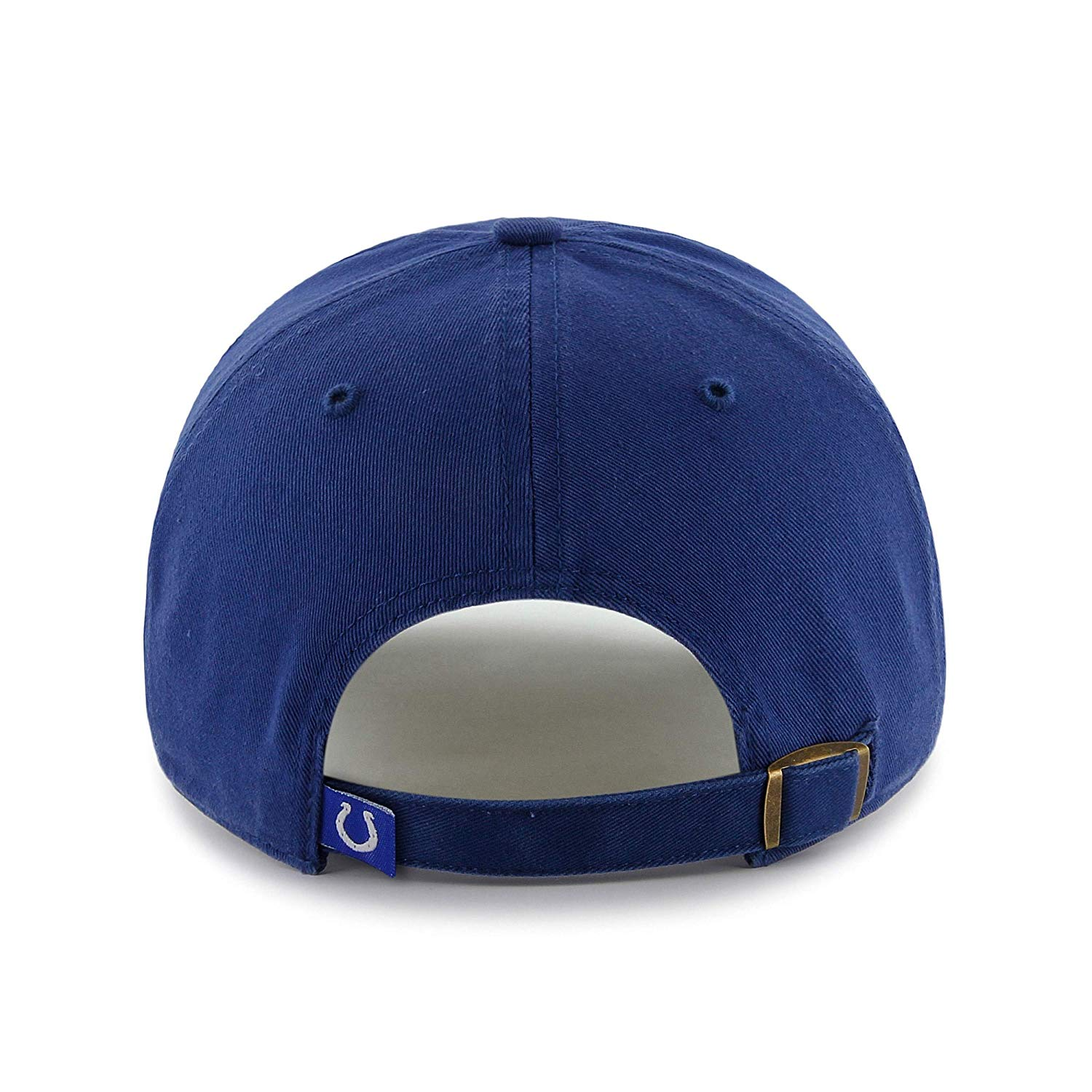 Blue NFL Indianapolis Colts Hat Sports Football Baseball Cap Embroidered Team Logo Athletic Games Clean Up Adjustable Cap/ Hat Boys Kids Unisex Fan
