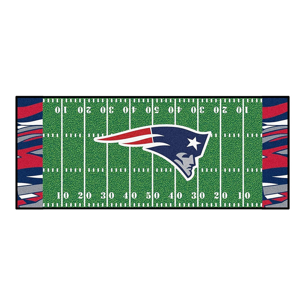 "30""x72"" NFL Patriots Rug Football Field Runner Rug xl Yoga Mat Sports Area Rug Boys Bedroom Living Room Bathroom Rugs Runner Long Floor Carpet"