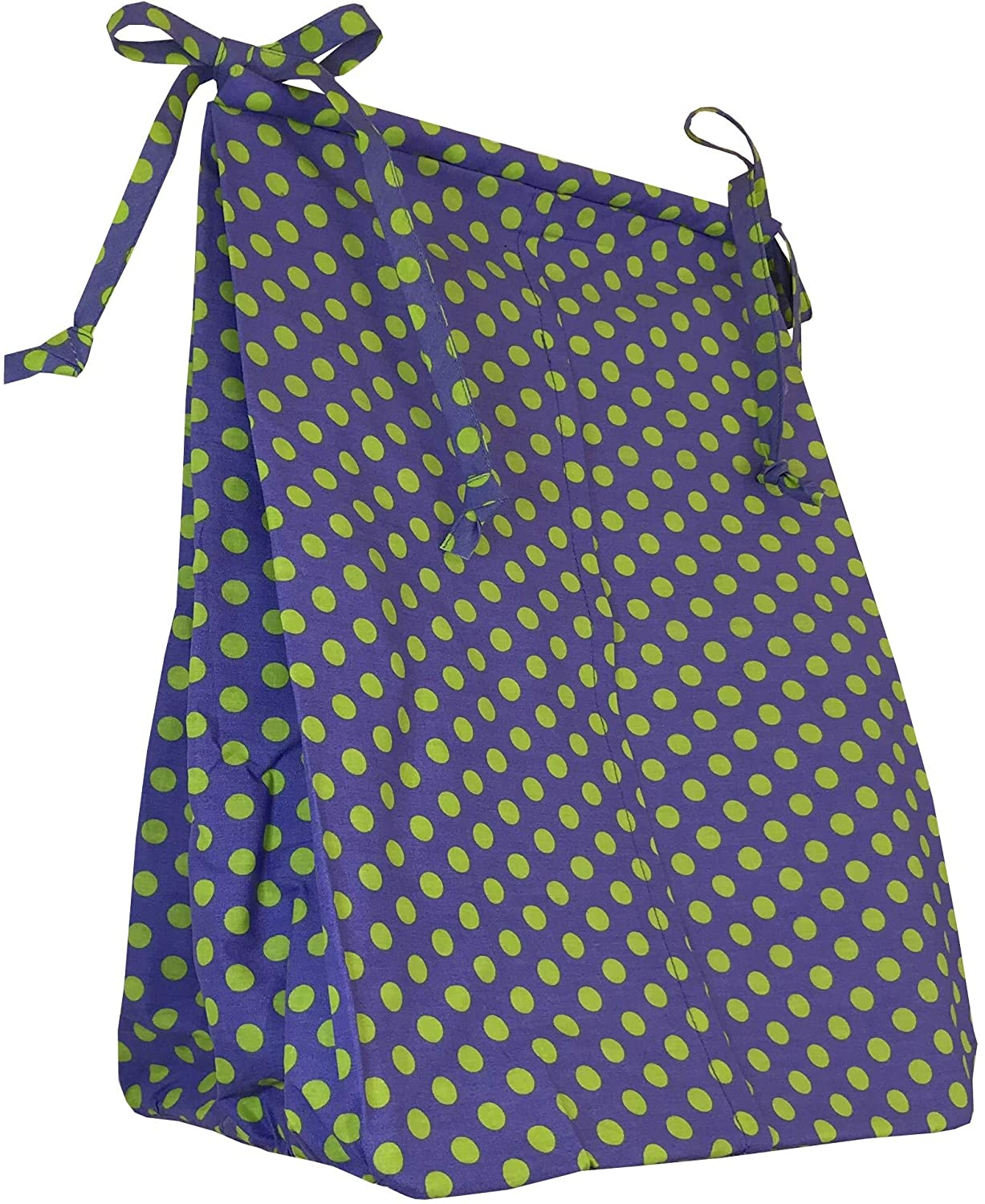Unknown1 Periwinkle Diaper Stacker Holds Approximately 4 Dozen Newborn Diapers Green Color Purple Girls