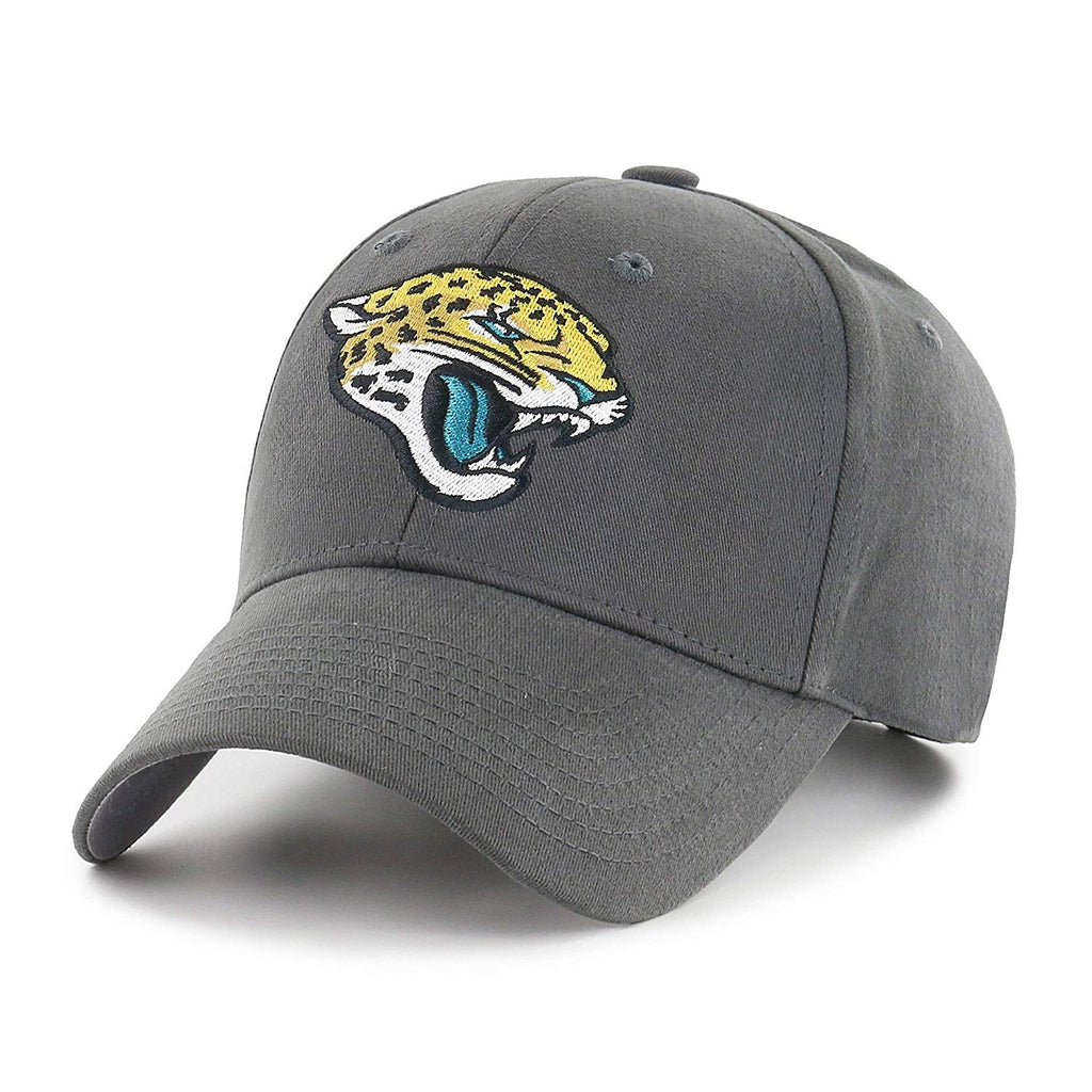 Grey NFL Jacksonville Jaguars Cap Sports Football Hat Team Logo Athletic Games Baseball Cap Hat Boys Kids Unisex Fan Gift Adjustable Strap