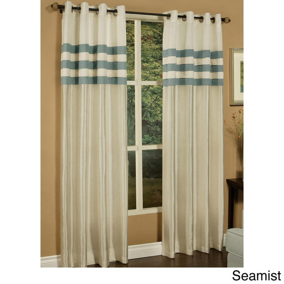 Girls Seamist Rugby Stripes Curtains Panel Pair Set Drapes Cabana Striped Pattern Window Treatments Kids Themed