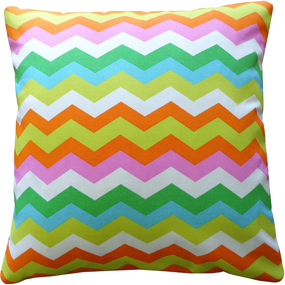 Handmade Pillow Blue Green Grey Orange Pink White Yellow Polyester
