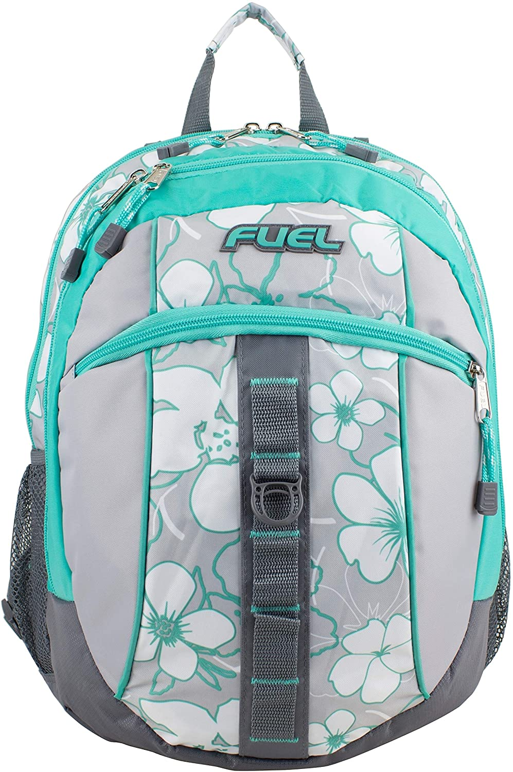 Fuel Sport Active Functional Backpack Color Two Tone Polyester Expandable Adjustable Strap