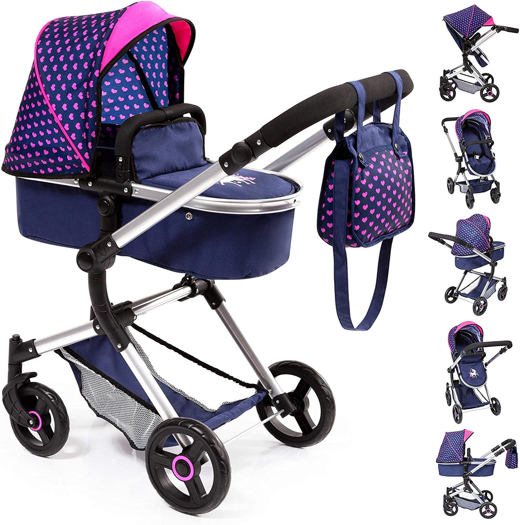 Unknown1 Baby Doll City Pram Stroller W/Diaper Bag Color Unisex Plastic