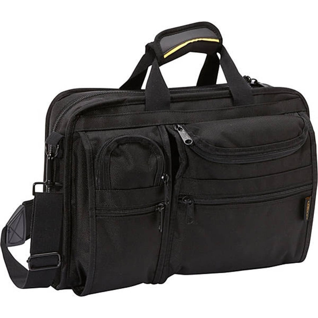 Black Contractor Briefcase Heavy Duty Construction Professionals - Diamond Home USA