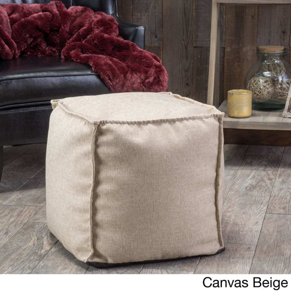 Canvas Square Shape Ottoman Polyester Fabric Pattern Spot Clean Spot Treat Accent Type Living Room Bedroom