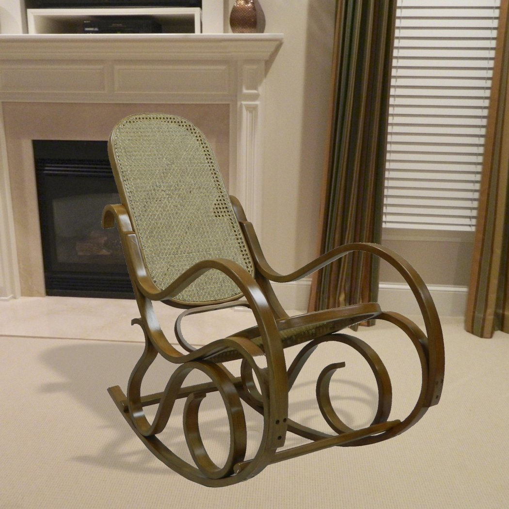 Vienna Classic Bentwood Rocker - Diamond Home USA