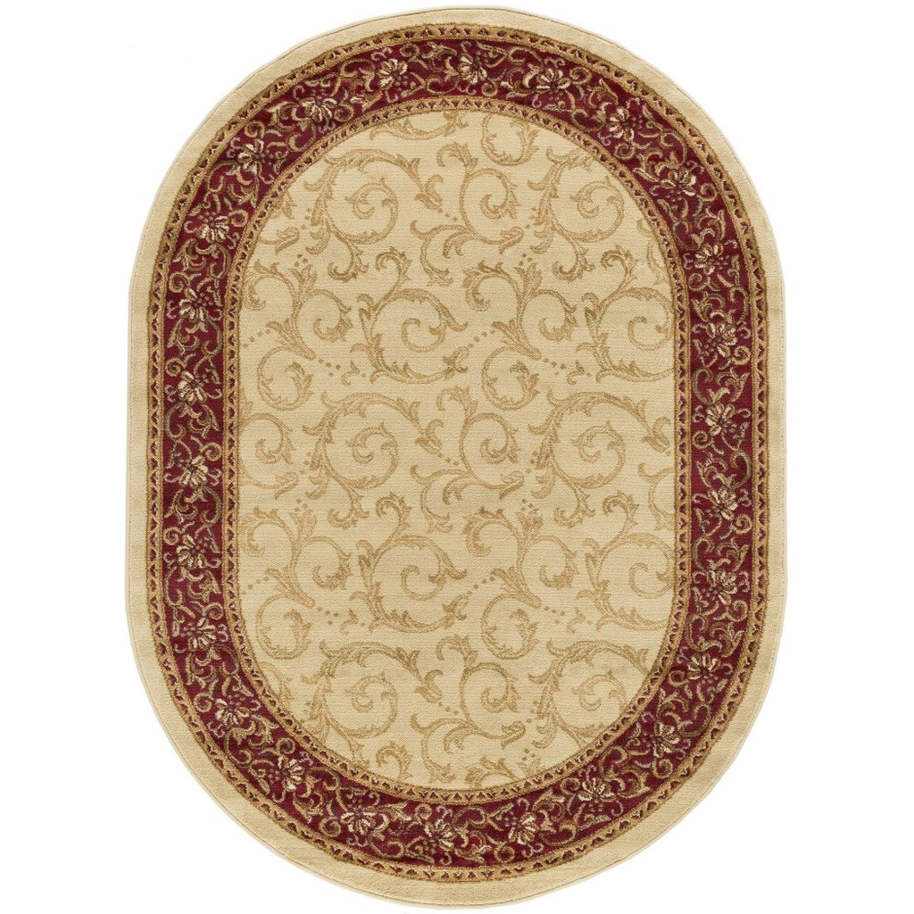 Oriental Theme Oval Rug Floral Pattern Oblong Carpet Geometric Medallion Diamond Themed Bohemian Boho Chic Bedroom