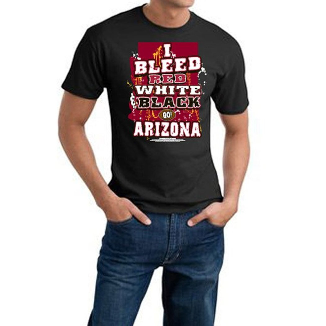 Mens NFL T Shirt Extra Large Double Football Sports Tee Football Themed Clothing I Bleed Slogan