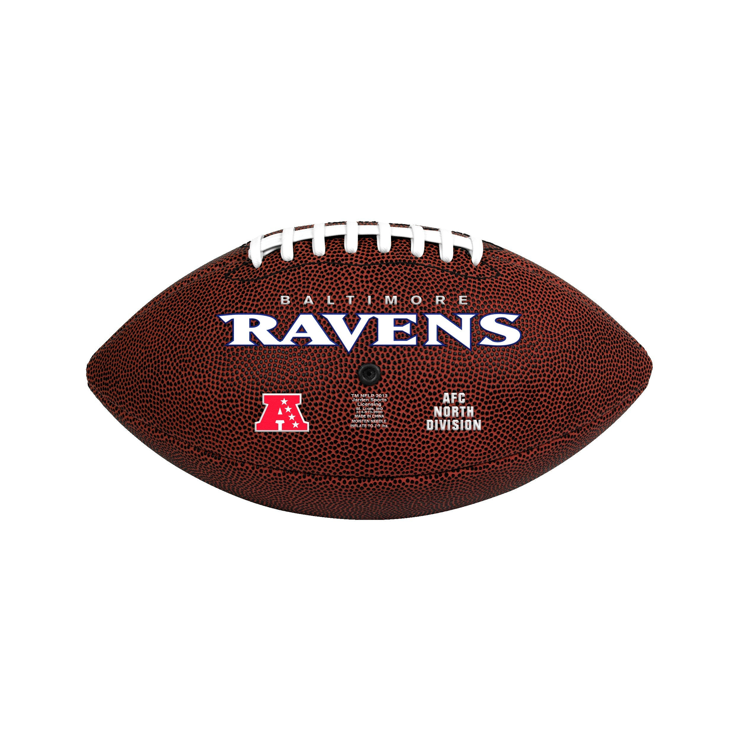 Baltimore Ravens Official Size Game Time Football - Diamond Home USA