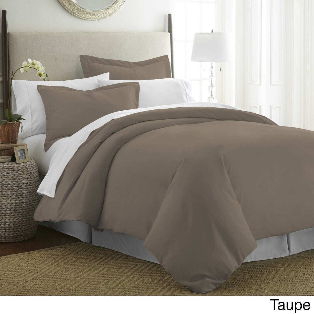 Plush Duvet Cover Set Themed Bedding Elegant Stylish Chic Soft Trendy Modern Buttons Pretty Plush Luxury Comfortable Warm