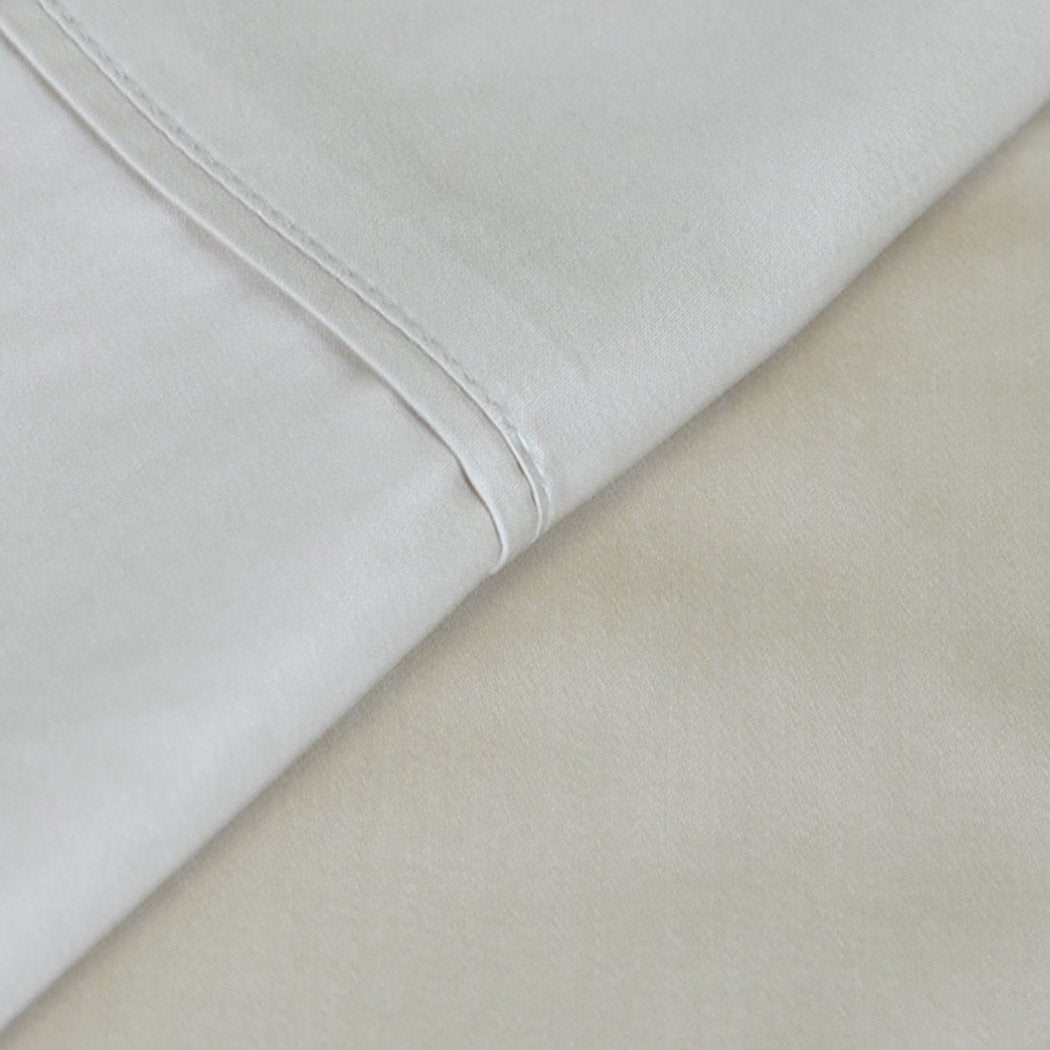 Sheet Set Bamboo Themed Bedding Soft Luxurious Lush Rich Silky Modern Comfortable Cool Breathable Lustrous Smooth Rayon from Bamboo