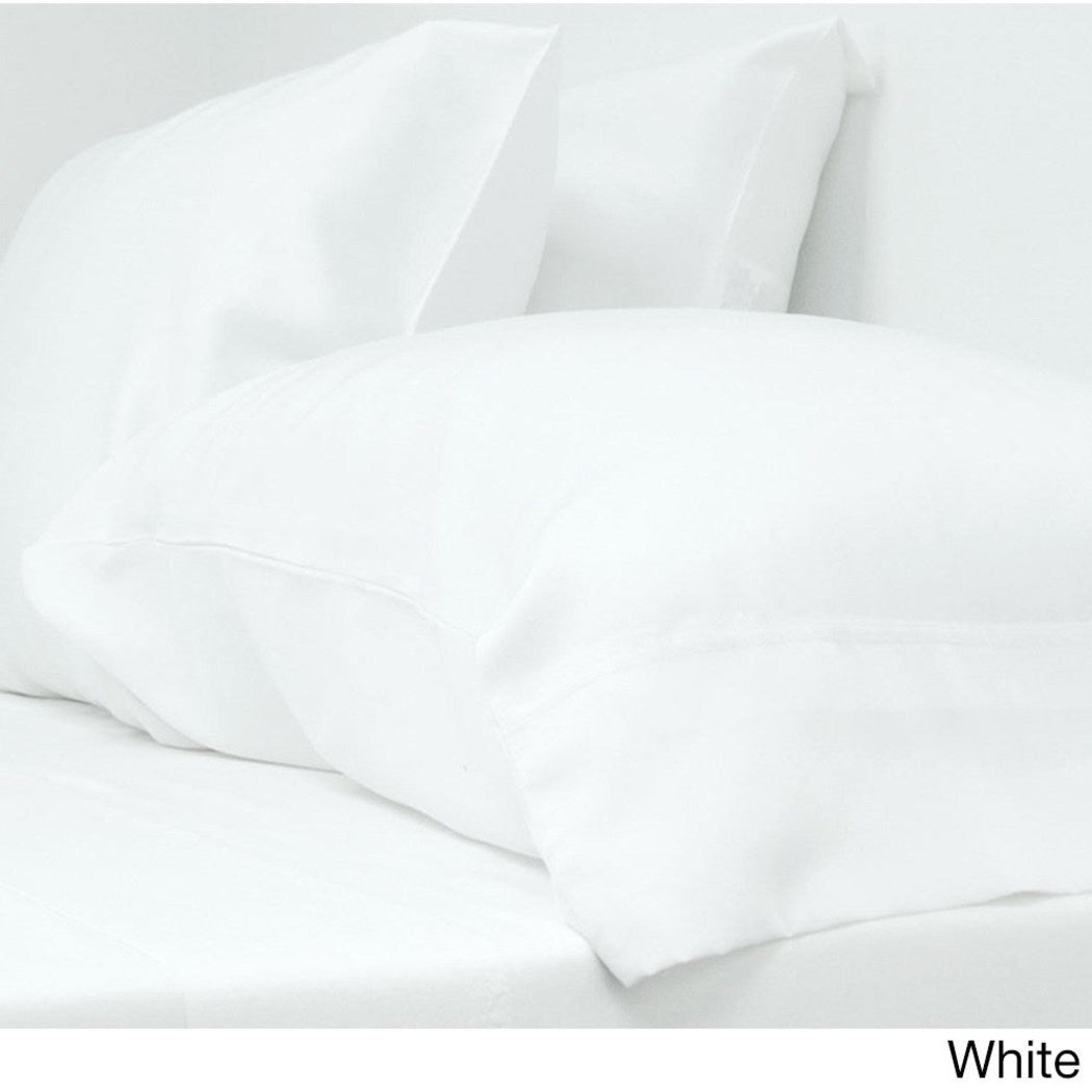 Bed Sheets Classic Eco Friendlyy Elasticized Fitted Sheets Silky Soft Rayon From Bamboo Fabric