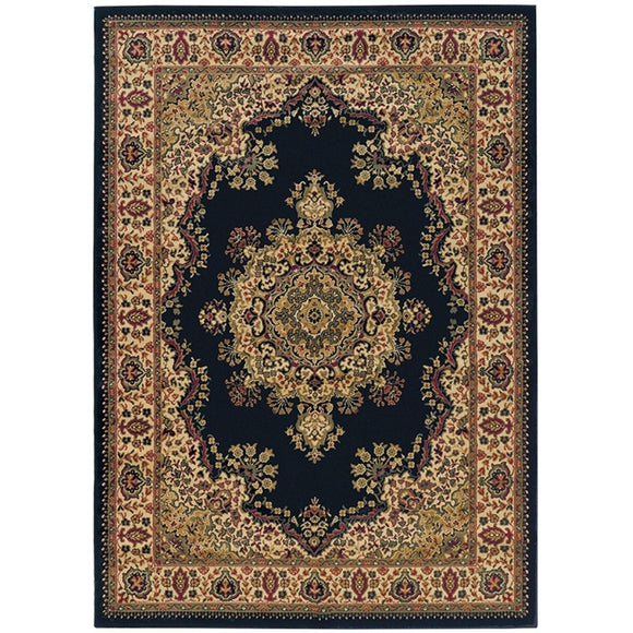 3'3ft X 4'11ft Medallion Oriental Rug Medium Area Carpet Tribal Florals Traditional Classic Rectangle Living Room Indoor Royal