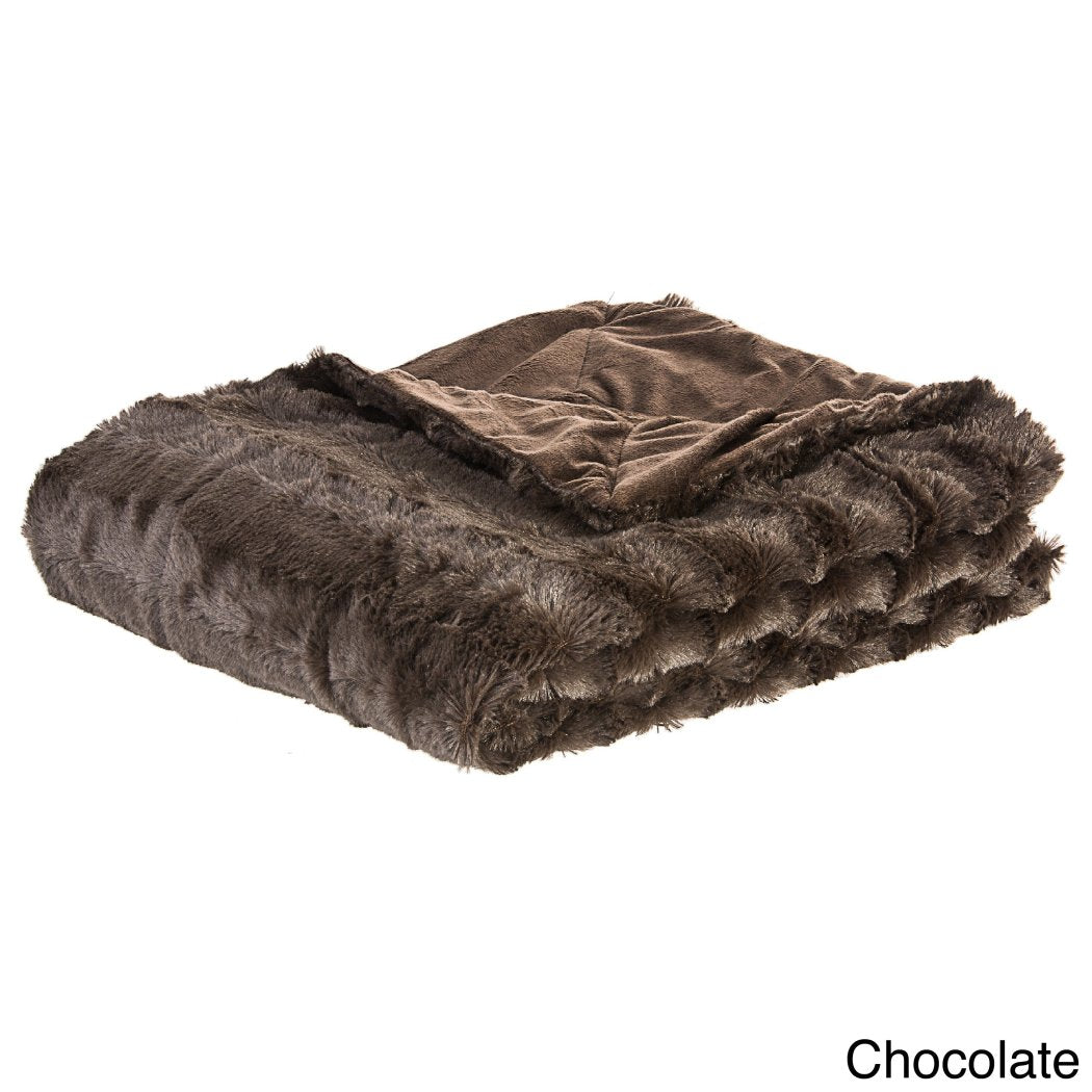 Fluffy Throw Blanket Type Stylish Themed Luxury Blanket Kids Contemporary Modern Casual Faux Fur