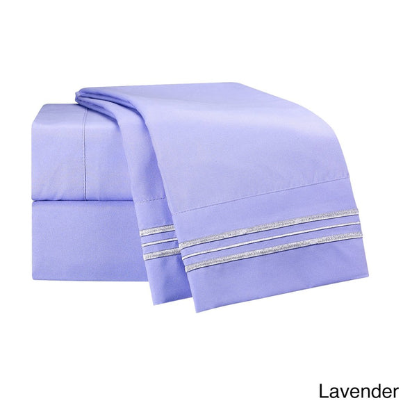 Bed Sheet Set Thread Count Best Comfort Collection