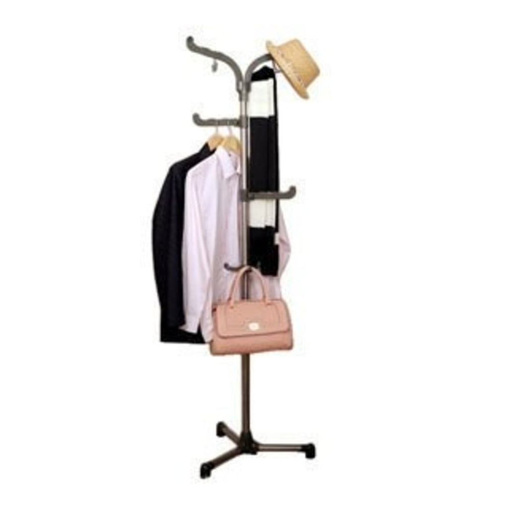 Vertical Hat Rack Free Standing Tree Shaped Rack Your Garments Hats Bags Entryway Living Room Use Vertical Hook Rack Closet Organizer - Diamond Home USA