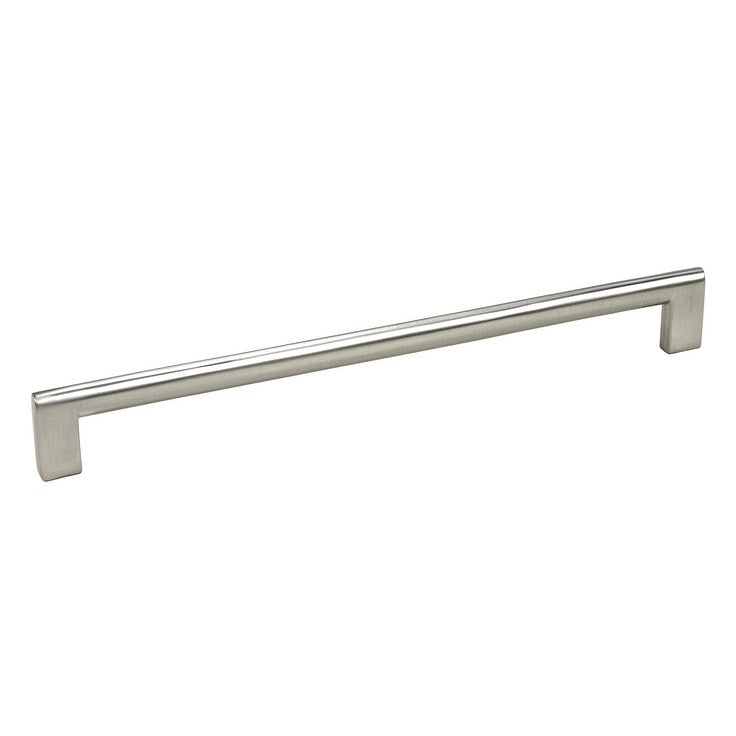 Contemporary 10-7/8 Inch High Heel Arch Design Stainless Steel Cabinet Bar Pull Handles (Pack Of 4) Silver Nickel Finish - Diamond Home USA