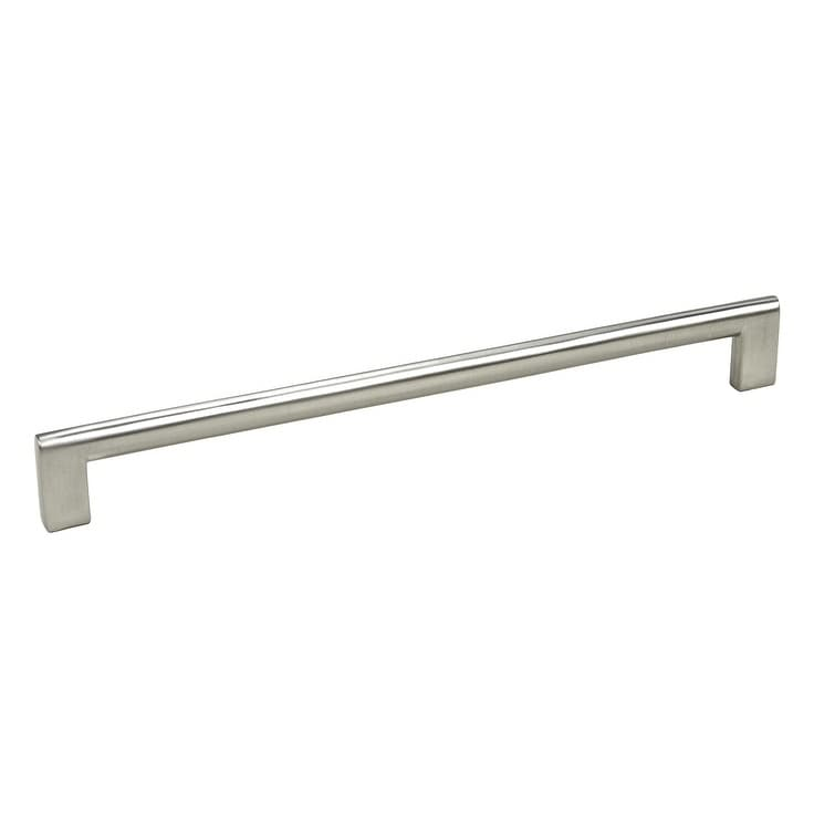Contemporary 10.625-inch Key Shape Stainless Steel Finish Cabinet Bar Pull Handles (Set Of 5) Silver Nickel - Diamond Home USA
