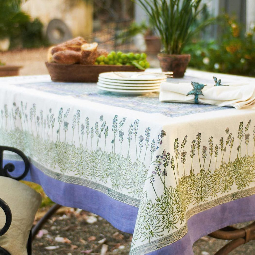 inches Floral Patterned Tablecloth Nature Flower Butterfly Design Square Medium Dining Table Cover Classic