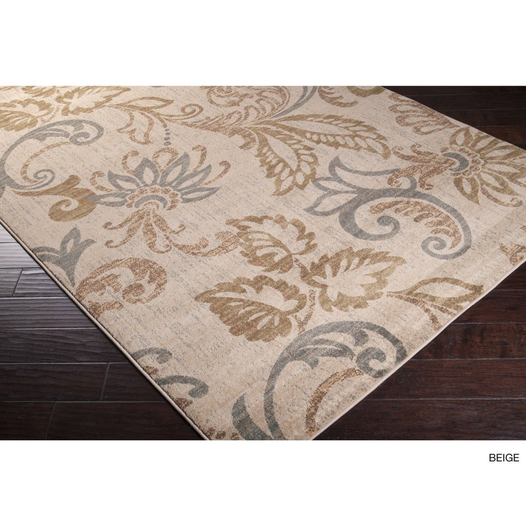 "2' X 7'5"" Floral Geometric Runner Rug Indoor Flower Vine Scroll Design Boho Chic Hippie Hallway Entryway Rectangle Carpet Large Flooring Mat"