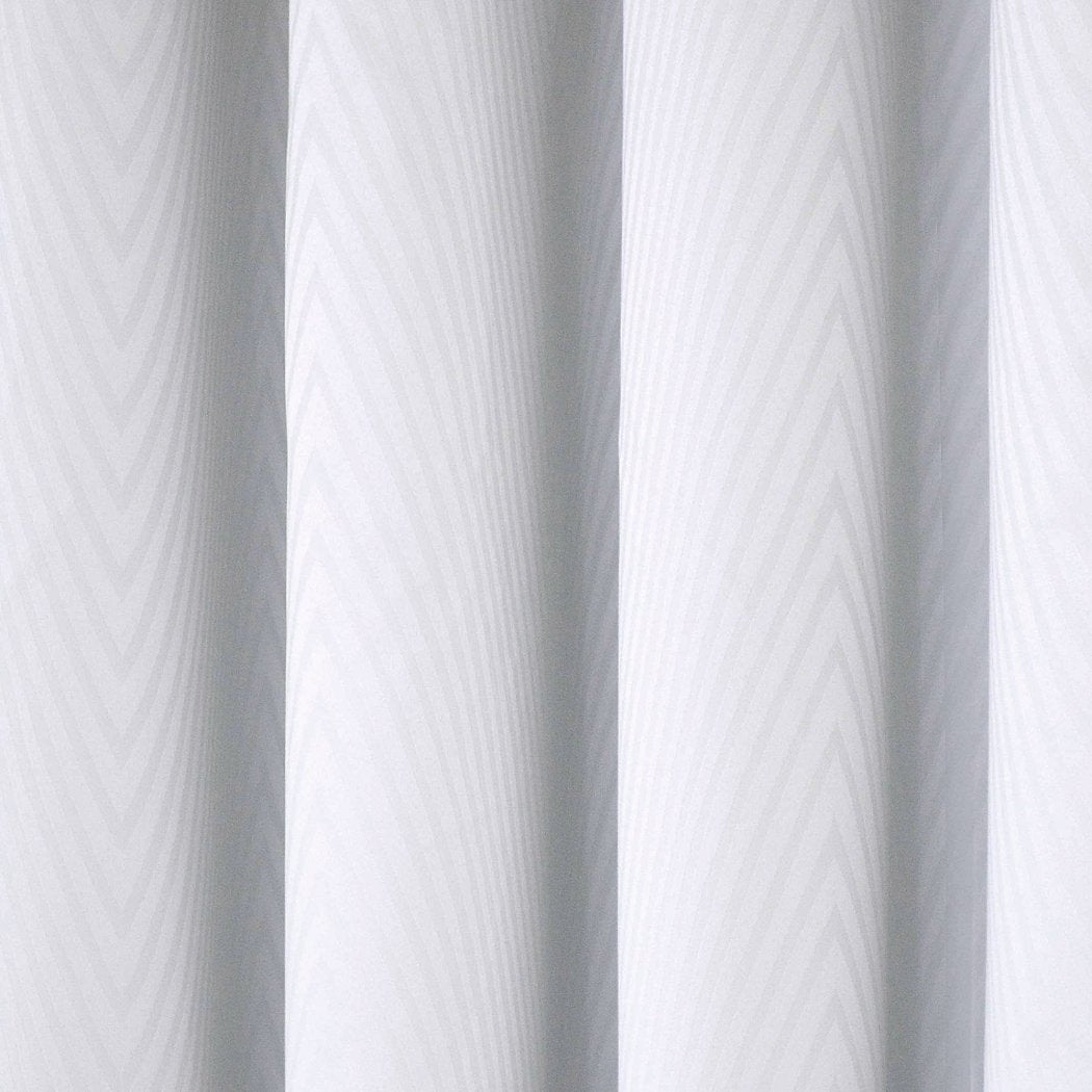 Girls Blackout Wave Pattern Curtain Single Panel Snow Window Drapes Kids Themed Grommet Ring Top Playful Luxurious