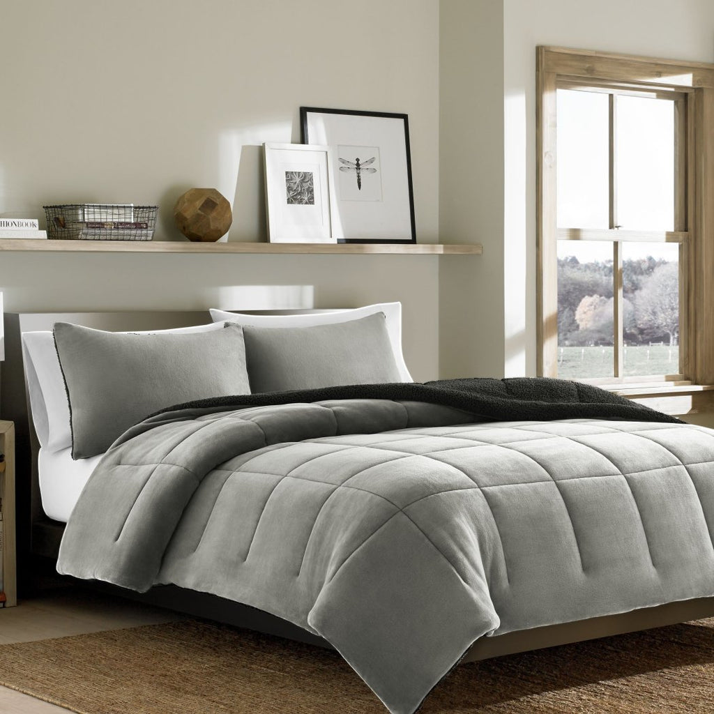 Comforter Set (Eddie Bauer Premium Fleece Chrome