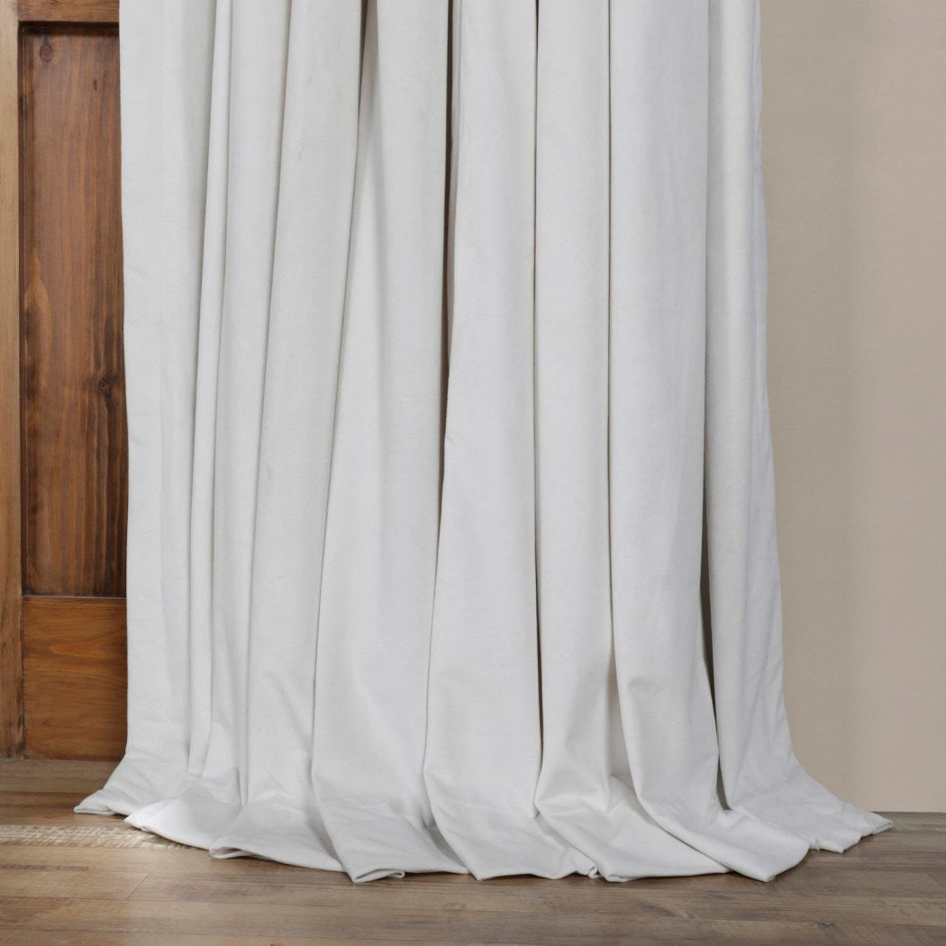 Girls Off Blackout Extra Wide Curtain Single Panel Allover Pattern Window Drapes Kids Themed Energy Efficient Rod Pocket