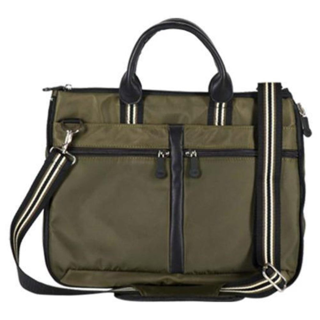 Green Contractor Briefcase Adjustable Strap Construction Durable Professional - Diamond Home USA