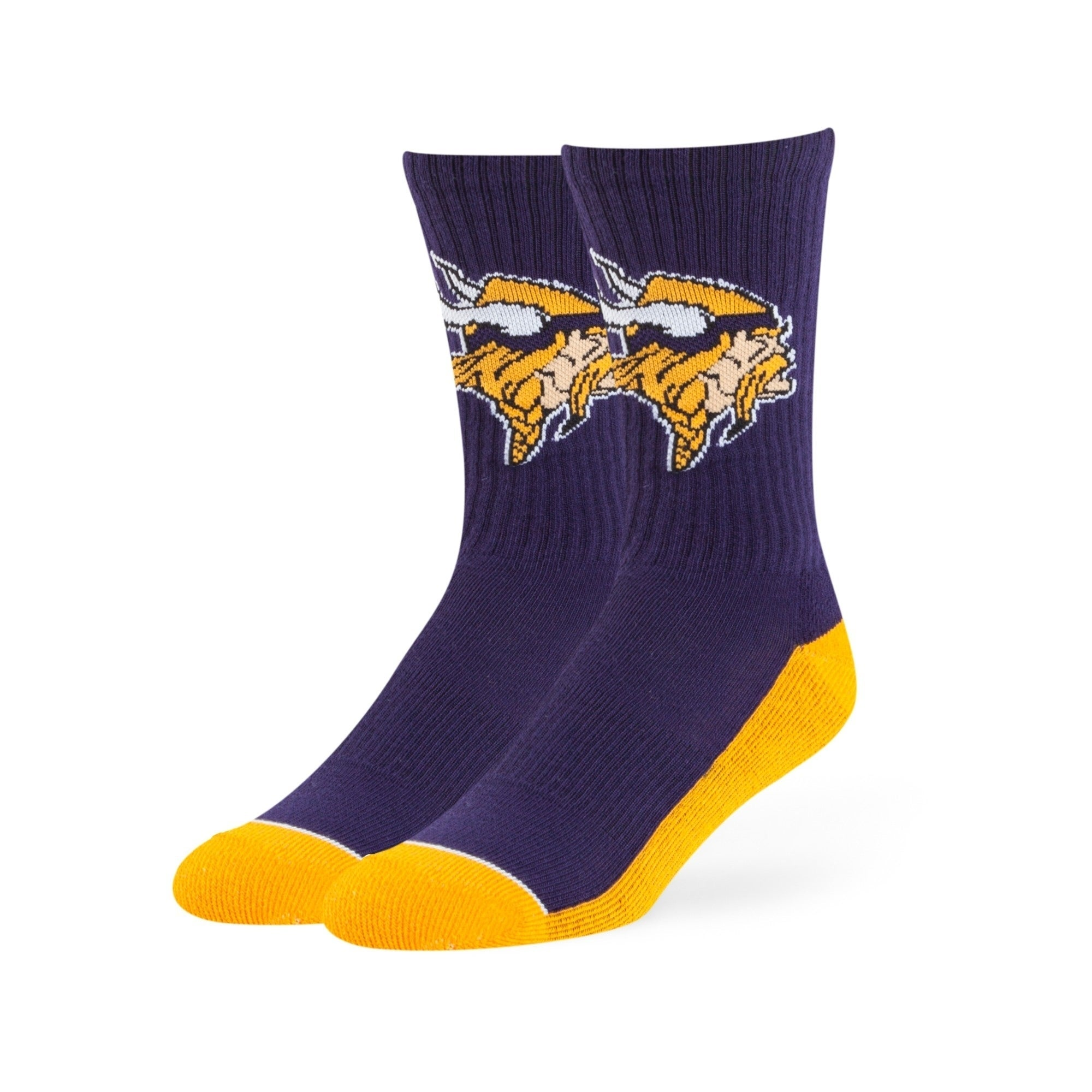 Minnesota Vikings Anthem Crew Socks - Diamond Home USA