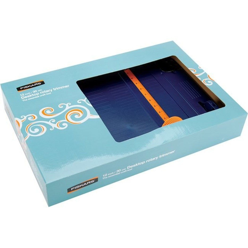 Fiskars 12 Inch Classic Rotary Paper Trimmer - Diamond Home USA