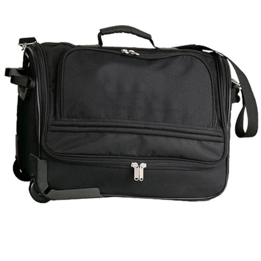 Lightweight Rolling Duffle Bag Signature Pattern Polyester
