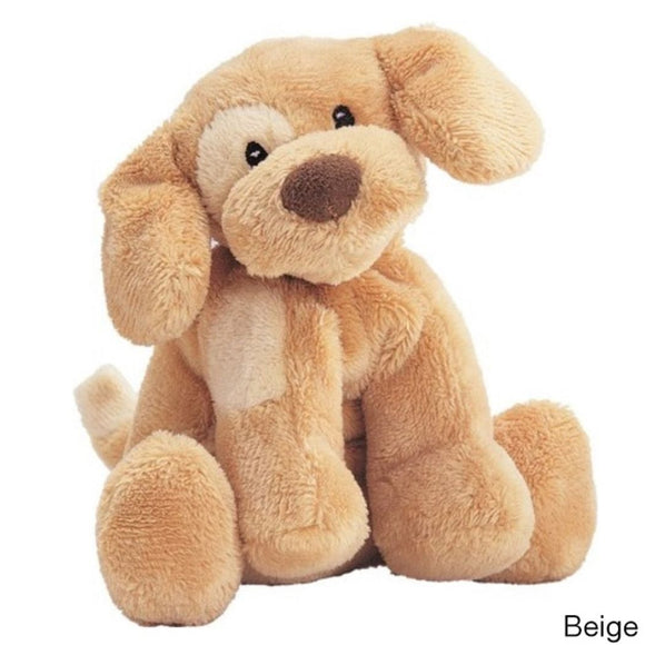 Plush Stuffed Spunky Dog Toy Cute Face Soft Fluffy Doggy Pet Animal Toys Adorable Friendly Puppy Cuddly Foot Hand Bright