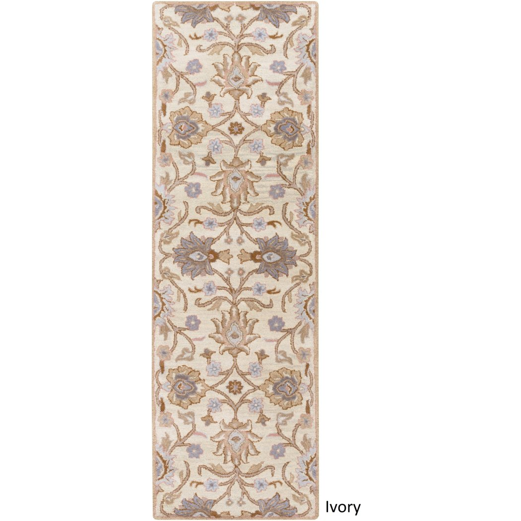 2 ft 6 x 8 ft Small Wool Runner Rug Modern Powerful Paisley Traditional Casual Classy Fancy Floral Stylish Intellectual Vibrant Flair Look