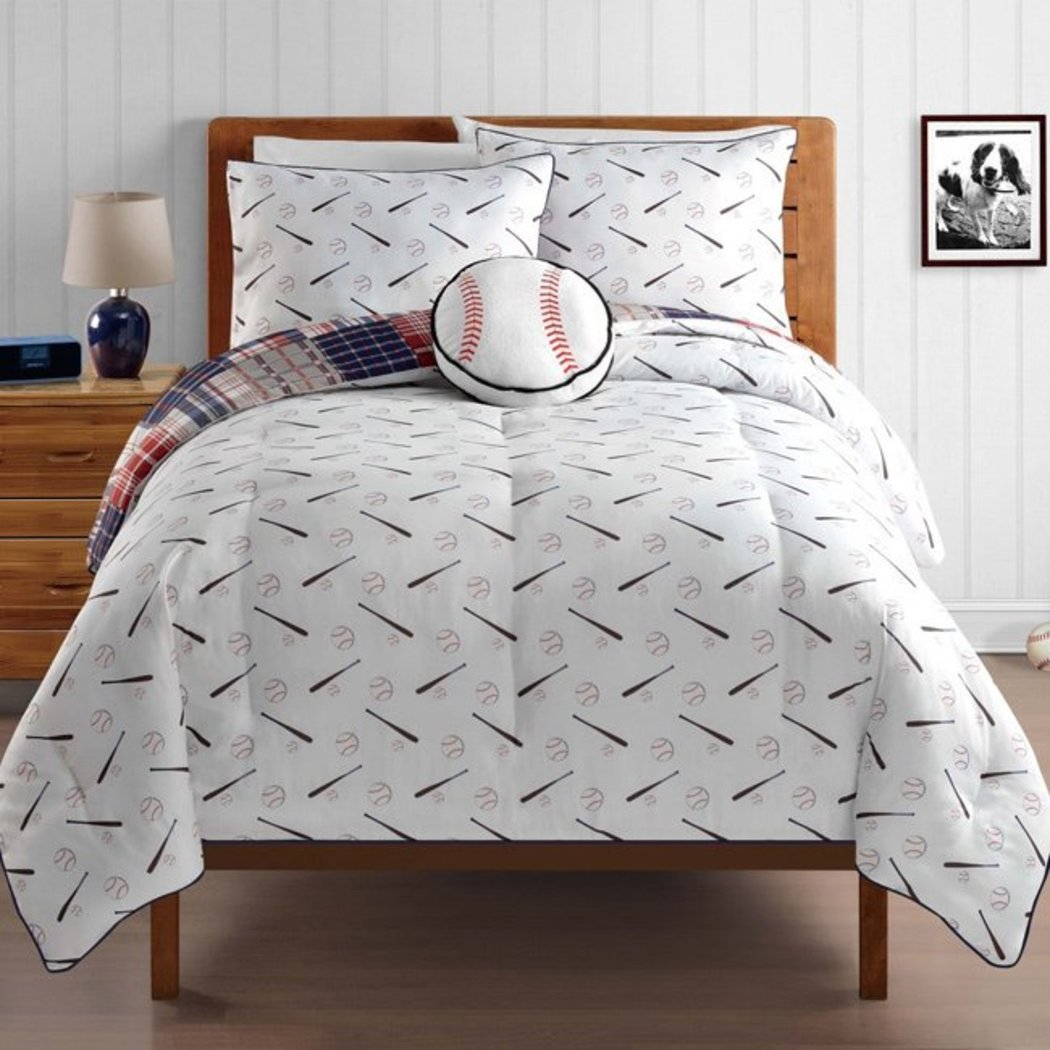Boys Baseball Comforter St Bed In A Bag Bedding By Karalai Bedding Collection