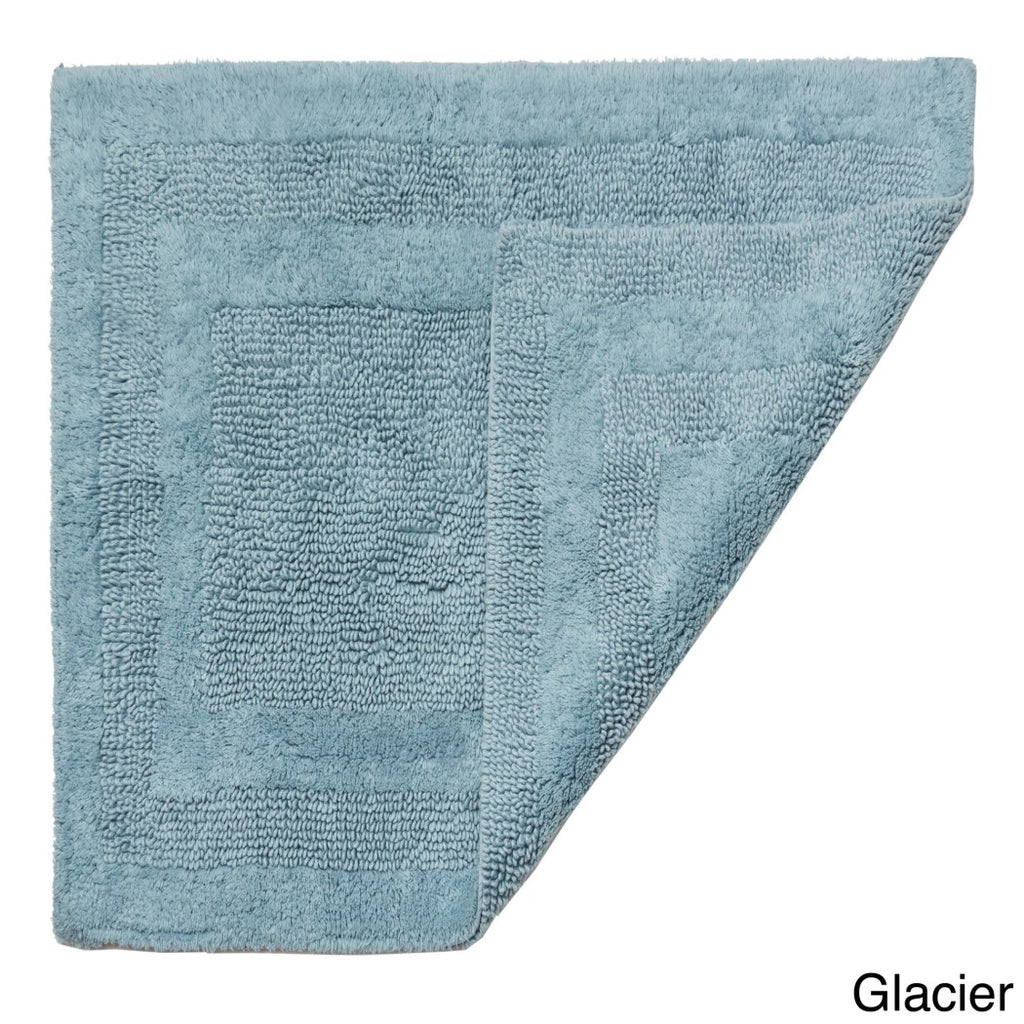 17 X 24 Glacier Hydro Soft Bath Rug Ice Large Plush Super Soft Comfort Mat Fast Drying Absorbent Step Out Shower Sink Jack Jill