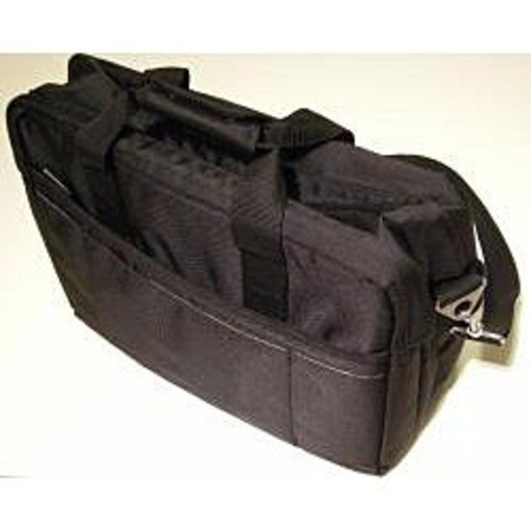 Black Contractor Briefcase Eco Friendly Construction Durable Expandable Laptop - Diamond Home USA