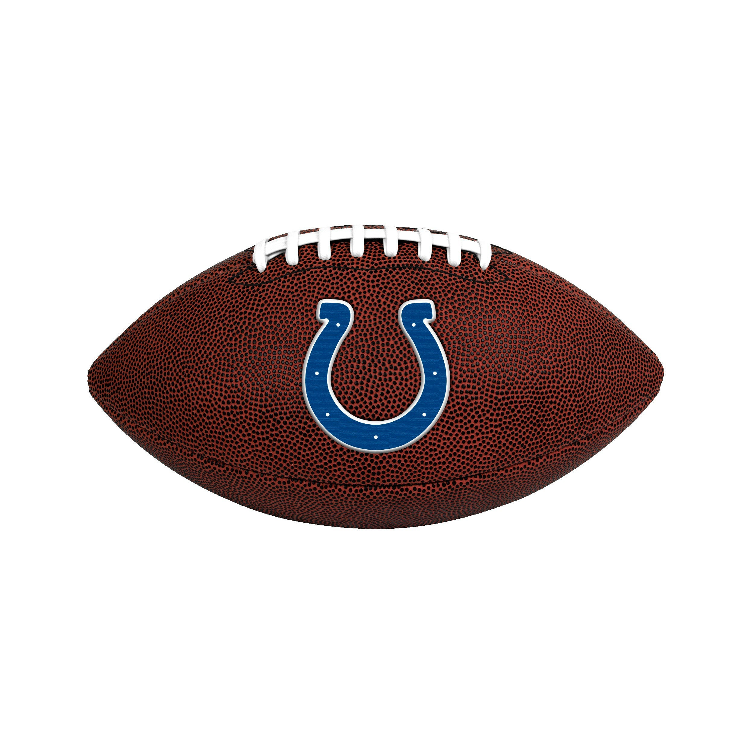 Indianapolis Colts Official Size Game Time Football - Diamond Home USA