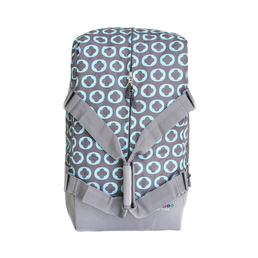 Geometric Sports Pattern Way Carry Shoulder Duffle Bag Textured Theme Duffel Hiking Sport Adventure Travel Duffle Compartment