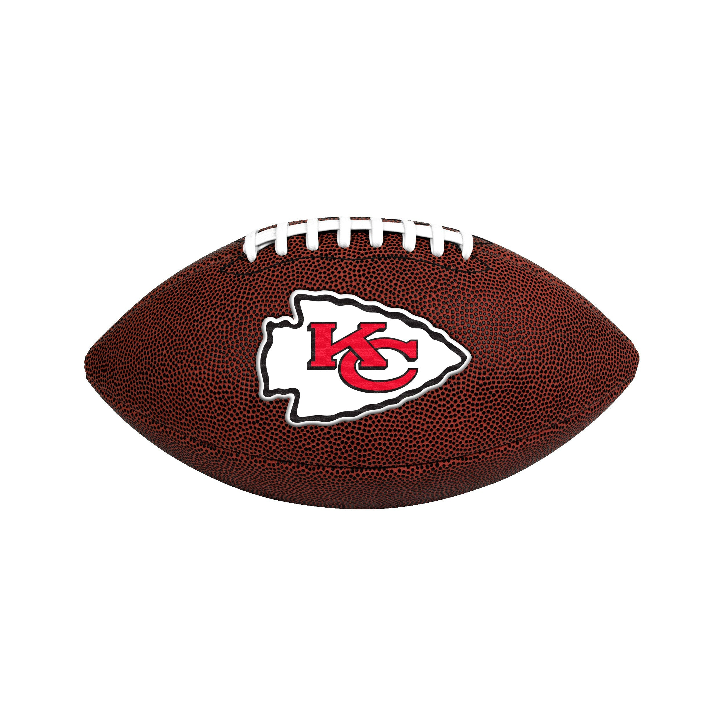 Kansas City Chiefs Official Size Game Time Football - Diamond Home USA
