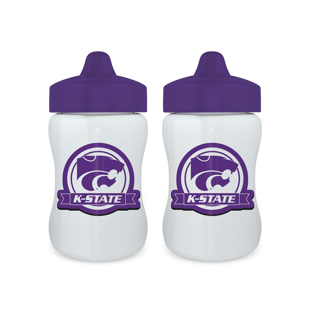 Kansas State Wildcats 2 Pack Sippy Cup Set multi - Diamond Home USA
