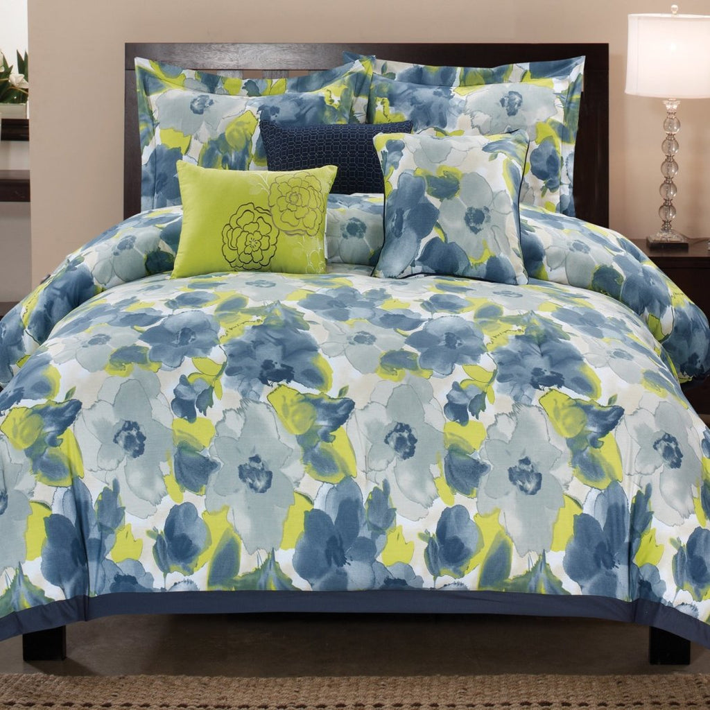 Luxury Home Greenwich Cotton Comforter Set