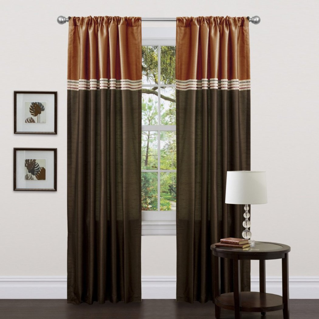 Lush Decor Terra Curtain Panel Pair - Diamond Home USA