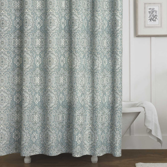 Shower Curtain (Laura Ashley Ardleigh) - Diamond Home USA