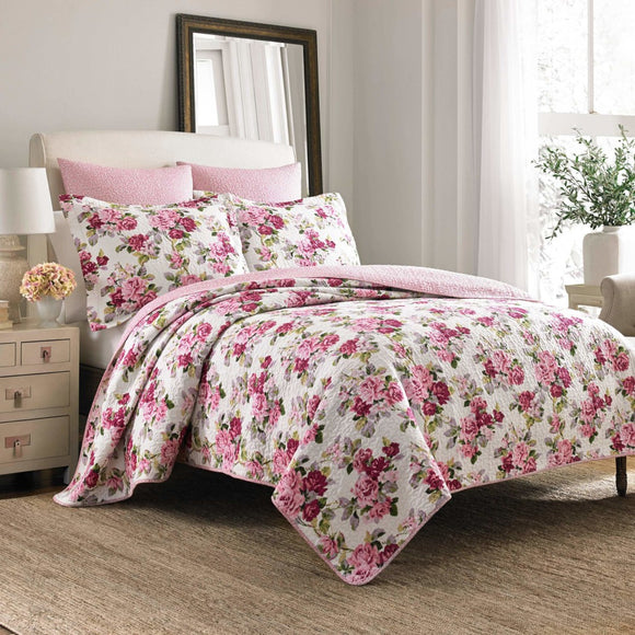 Laura Ashley Secret Garden Quilt Set