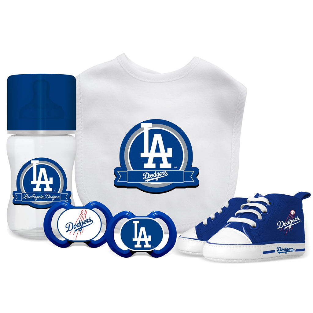 Los Angeles Dodgers 5 Pc Infant Gift Set - Diamond Home USA