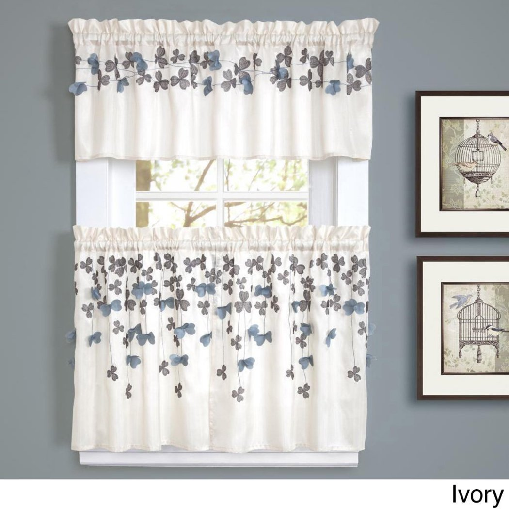 Flower Drops Window Valance Floral Pattern Bohemian Damask Medallion Flowers Paisley Damask Hippie Moroccan Straight