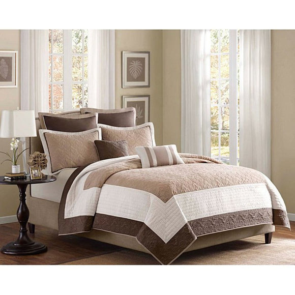 Luxury Comfort Bedding Quilt Set Bedroom Queen