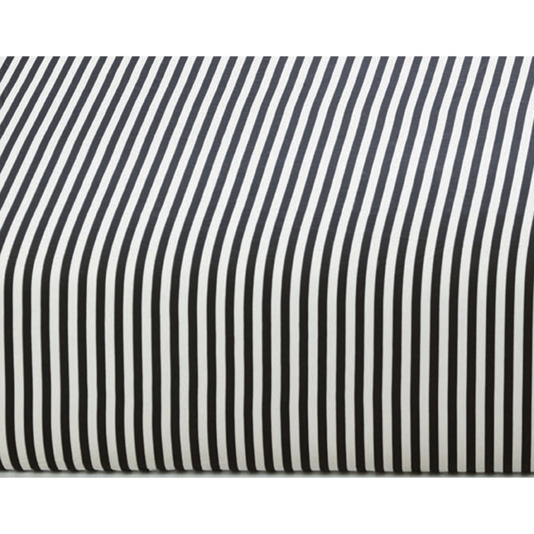 Rugby Stripes Pattern Sheets Set Classic Horizontal Lines Design Stripe Inspired Beddingy Elasticized Fitted Pocket Soft