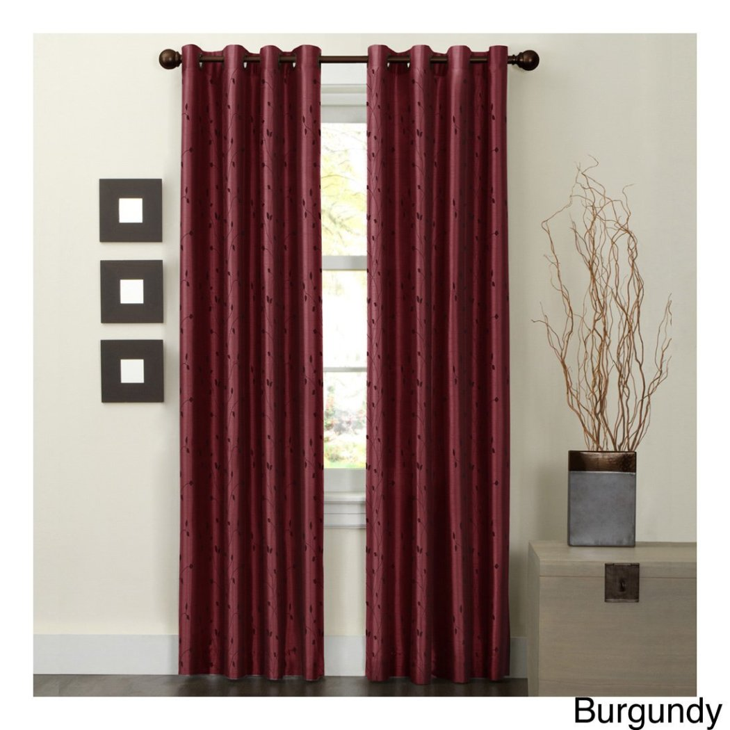 Girls Embroidered Curtain Single Panel Window Drapes Kids Themed Thermal Lined Grommet Playful Stylish Luxurious Faux